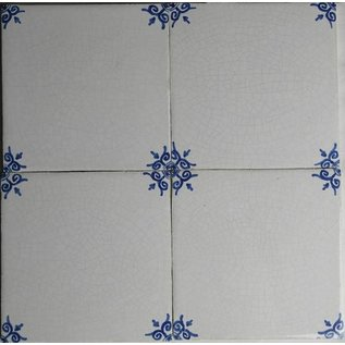Ornamenten - ornaments Sample package with 4 Oxhead tiles