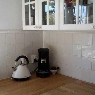 Voorbeelden - Fotogalerie - Photo Gallery all White tiles