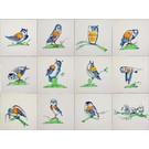 Dieren - Tieren - animals RM1-10b owls
