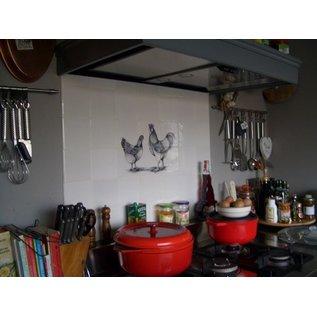 Voorbeelden - Fotogalerie - Photo Gallery Rooster with chicken