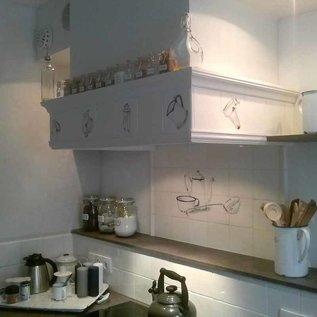 Voorbeelden - Fotogalerie - Photo Gallery Emaille in der Küche