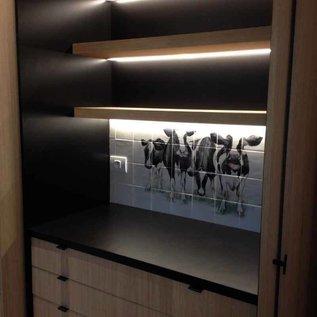 Voorbeelden - Fotogalerie - Photo Gallery Under upper cabinets