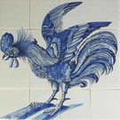 Dieren - Tieren - animals Historic rooster