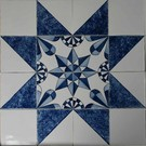 Ornamenten - ornaments Frisian star