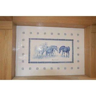 Voorbeelden - Fotogalerie - Photo Gallery Horses in the chimney