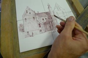 Uw foto op Friese witjes geschilderd