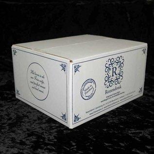 Witjes - Uni Fliesen - uni tiles Probepaket 5 ein Mischung mit 5 Creme / Elfenbeintönen