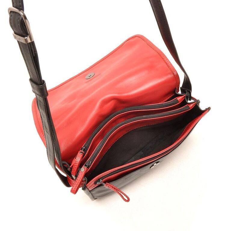 Berba 005 517 zwart rood damestassen engbers lederwaren - Eetkamer rood en zwart ...
