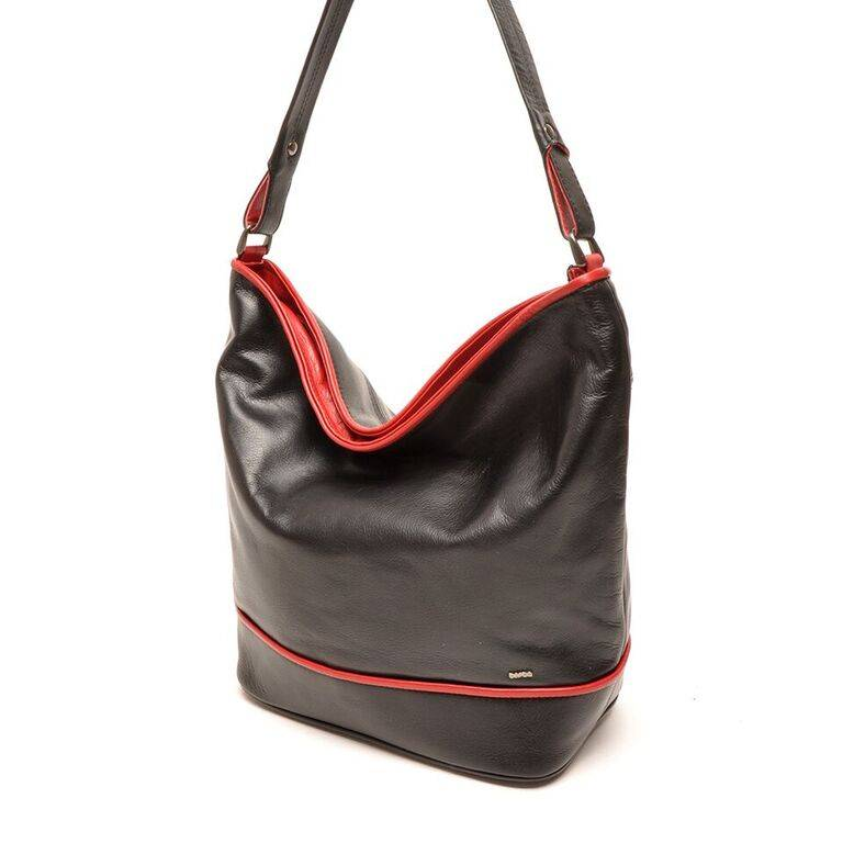 Berba 005 850 zwart rood damestassen engbers lederwaren - Eetkamer rood en zwart ...