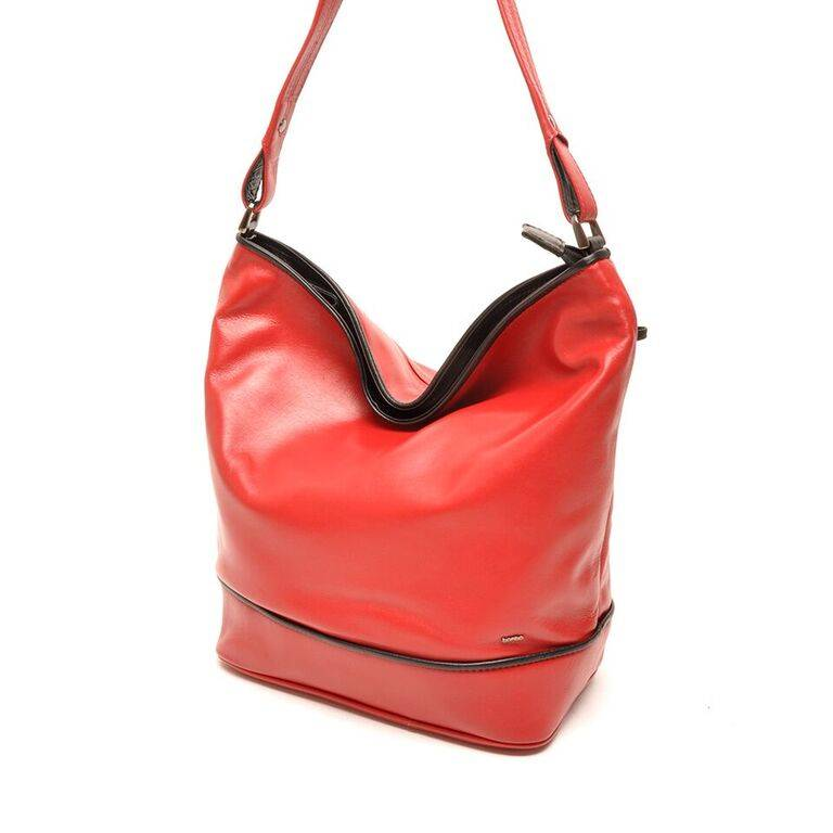Berba 005 850 rood zwart damestassen engbers lederwaren - Eetkamer rood en zwart ...