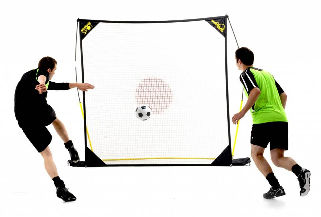 Kickster Spot 2m x2m: draagbare. montabele rebounder