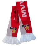 Dubbelzijdige Club Sjaal in twee kleuren met verenigingsnaam en logo