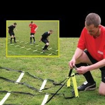 Diamond Football Speedladder, coordinatieladder 4m