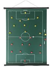 Taktisport Taktiekbord oprolbaar en magnetisch. Optie: met draagkoker