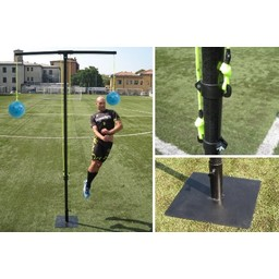 Head shot trellis|Version with iron base for synthetic grass (balls excluded)