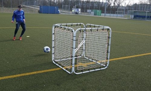Diamond Footbal 9x6 Rebounder - Copy