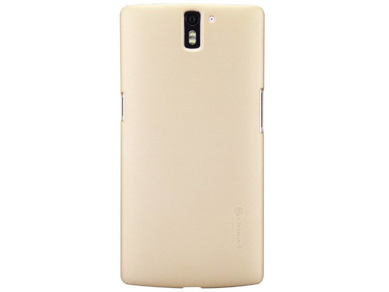 Nillkin Frosted Shield Gold OnePlus One