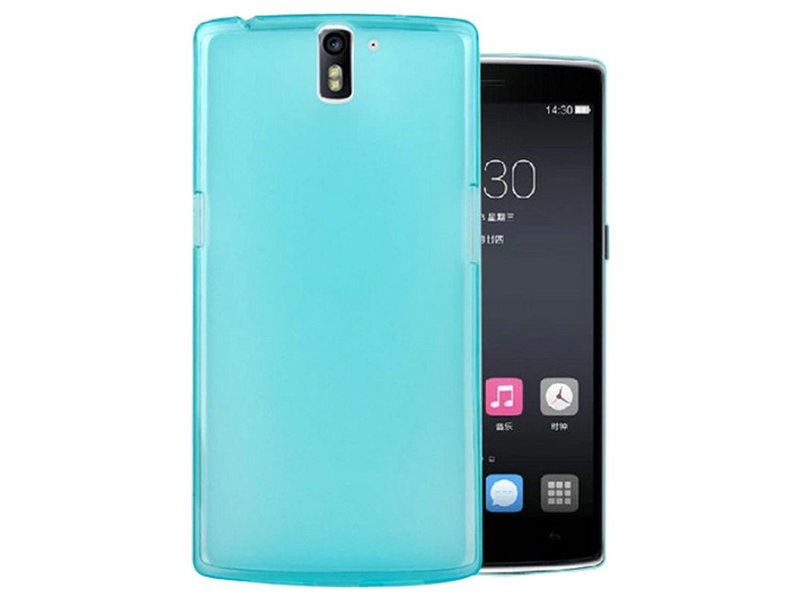 SillyCone Silicone Cover Blau OnePlus One