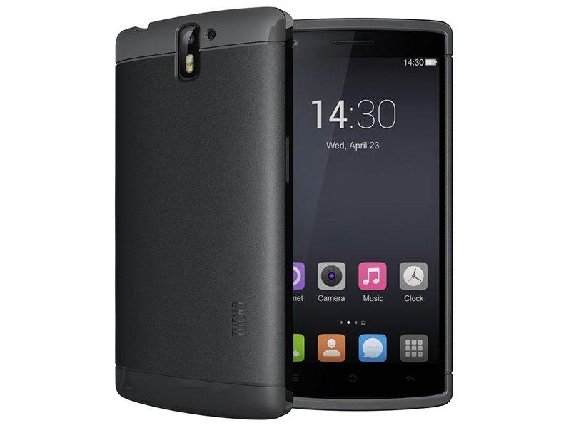 Tudia Lite Handyhülle Schwarz OnePlus One