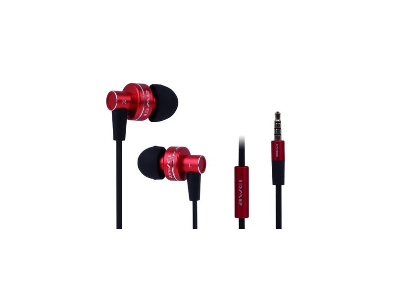 Awei ES900i Kopfhörer Rot