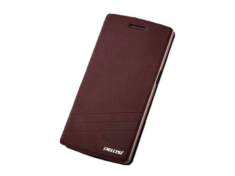 Pelosi Flip Case Braun OnePlus One