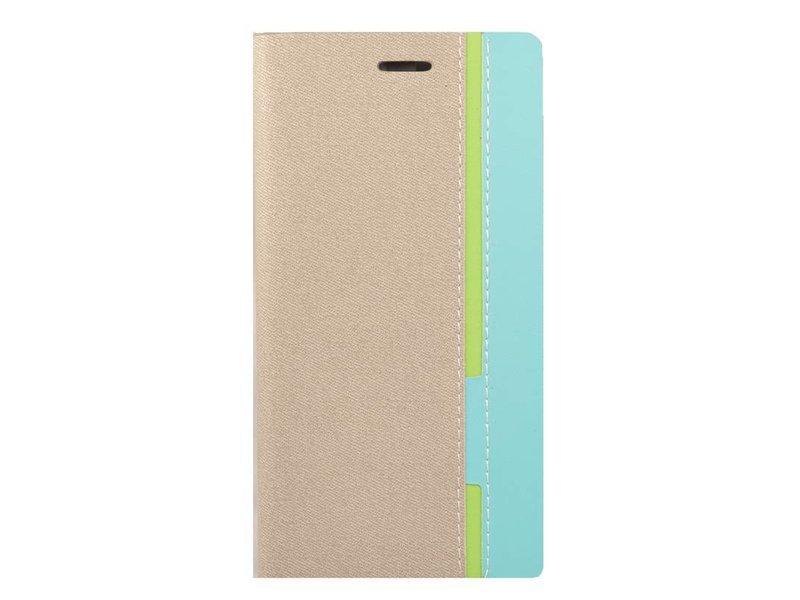 DualColor Flip Case Stripe Grau OnePlus One