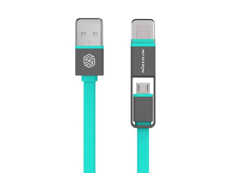 Nillkin Plus USB Kabel Mikro USB/Lightning Grün