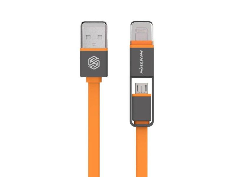 Nillkin Plus USB Kabel Mikro USB/Lightning Orange