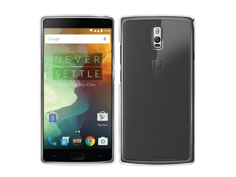 Orzly Fusion Case Transparent OnePlus 2