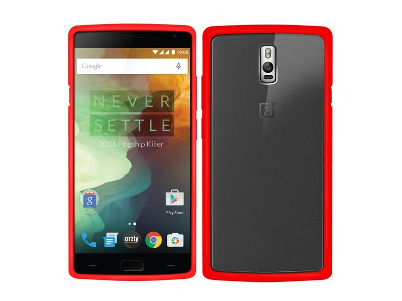 Orzly Fusion Case Rot OnePlus 2