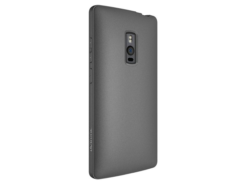 Diztronic TPU Handyhülle Grau OnePlus 2