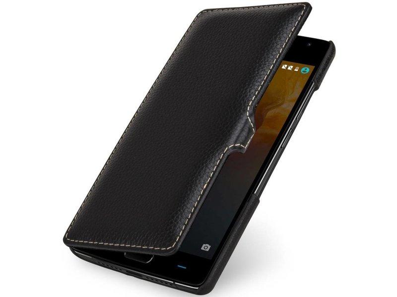 StilGut Handyhülle Book Clip Schwarz OnePlus 2