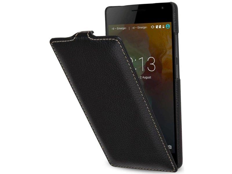 StilGut Handyhülle Ultraslim Schwarz OnePlus 2