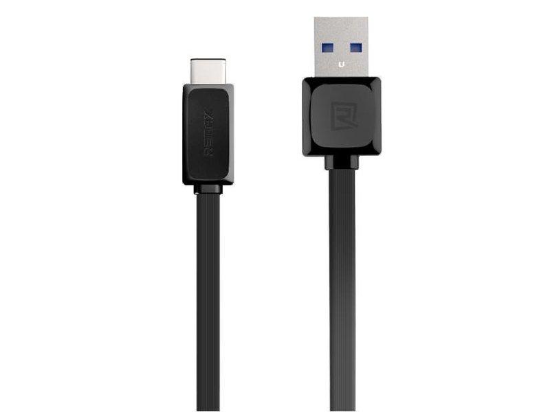 Remax USB Type C Kabel Schwarz OnePlus 2/3/3T