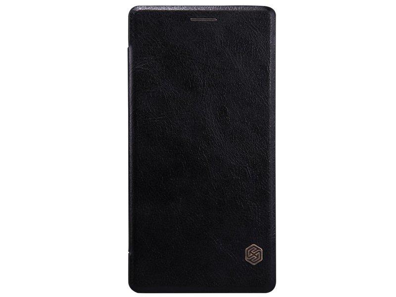 Nillkin Qin Leder Flip Case Schwarz OnePlus 2