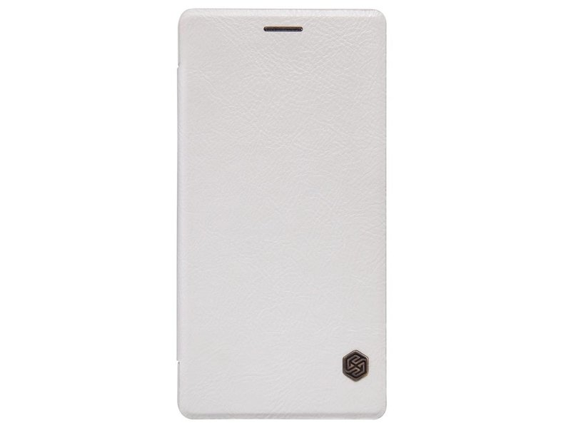 Nillkin Qin Leder Flip Case Weiß OnePlus 2