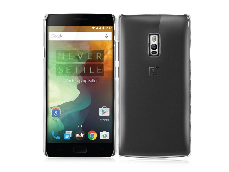 Orzly InvisiCase Hülle Transparent Oneplus 2