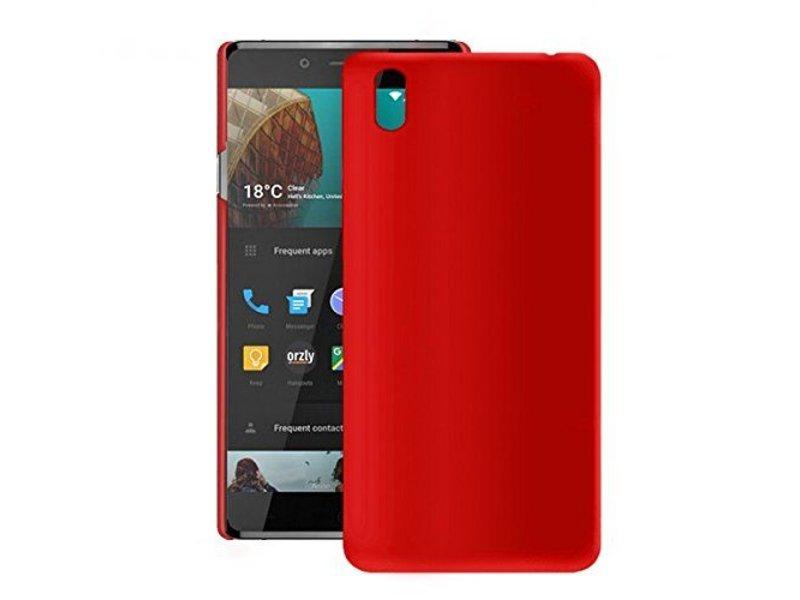 Orzly Exec-Armour Schutzhülle Rot OnePlus X