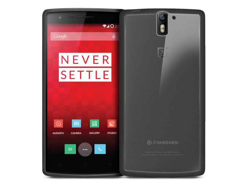 Orzly Fusion Case Schwarz Oneplus One
