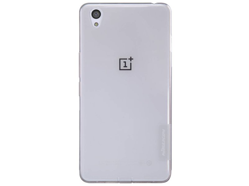 Nillkin TPU Case Transparant Grau OnePlus X