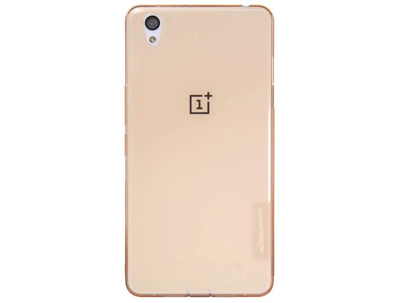 Nillkin TPU Case Transparant Gold OnePlus X