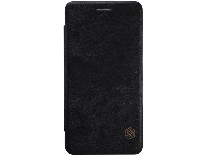 Nillkin Qin Leder Flip Case Schwarz OnePlus X