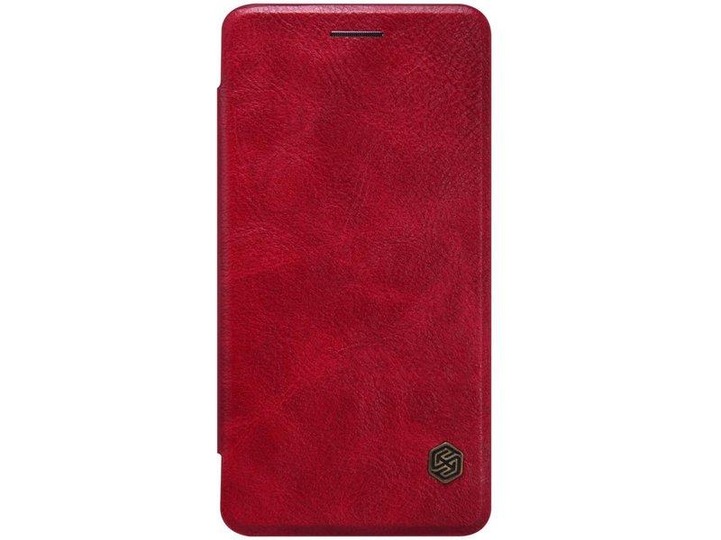 Nillkin Qin Leder Flip Case Rot OnePlus X