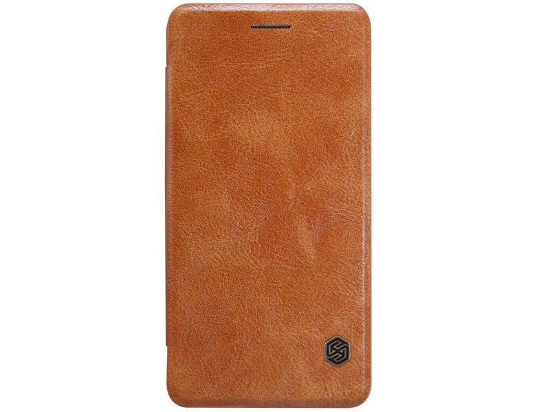 Nillkin Qin Leder Flip Case Braun OnePlus X