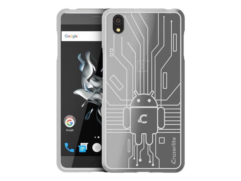 Cruzerlite Bugdroid Circuit Hülle Transparent OnePlus X