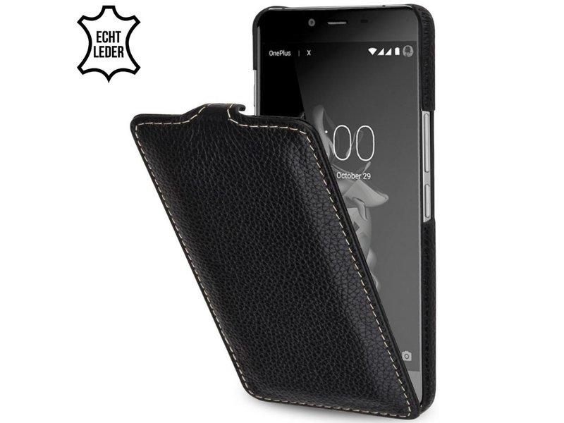 StilGut Handyhülle UltraSlim Schwarz OnePlus X