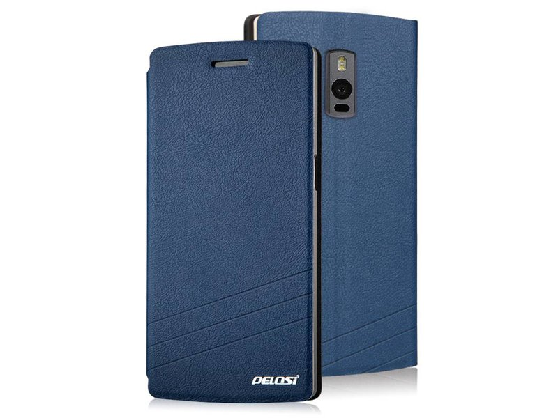 Pelosi Flip Case Blau OnePlus 2