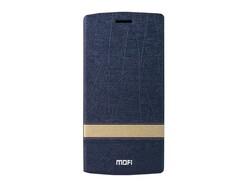 MOFI Flip Case Design Stripe Blau OnePlus One