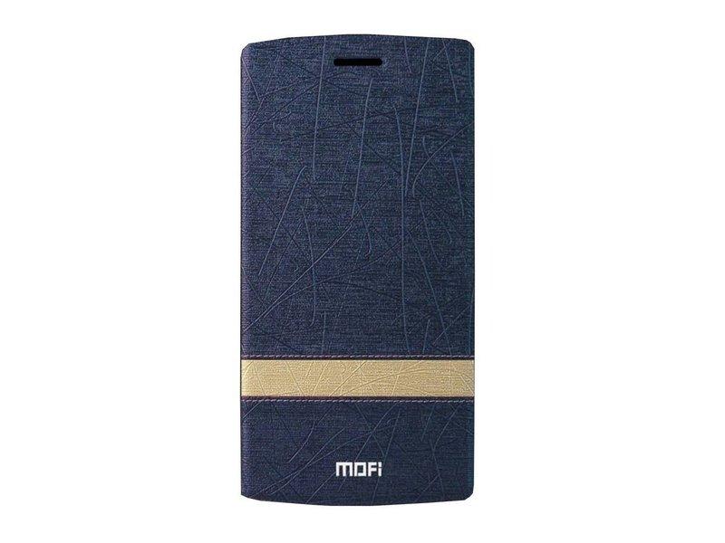 MOFI Flip Case OnePlus One Design Stripe Blau
