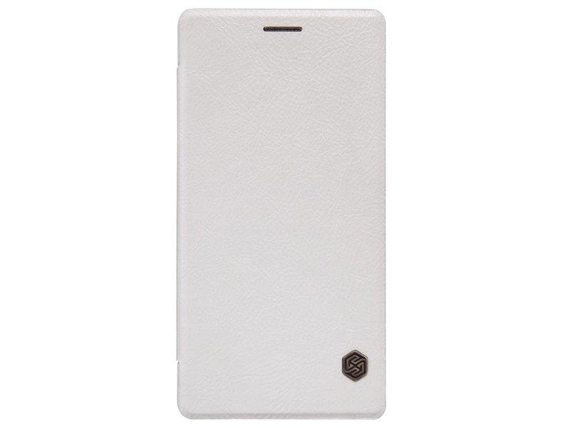 Nillkin Qin Flip Case Weiß OnePlus 3/3T